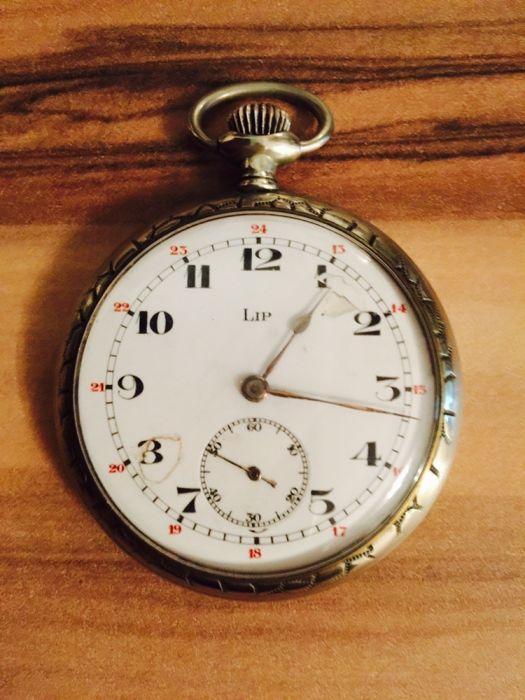 Vand ceas de buzunar LIP impecabil