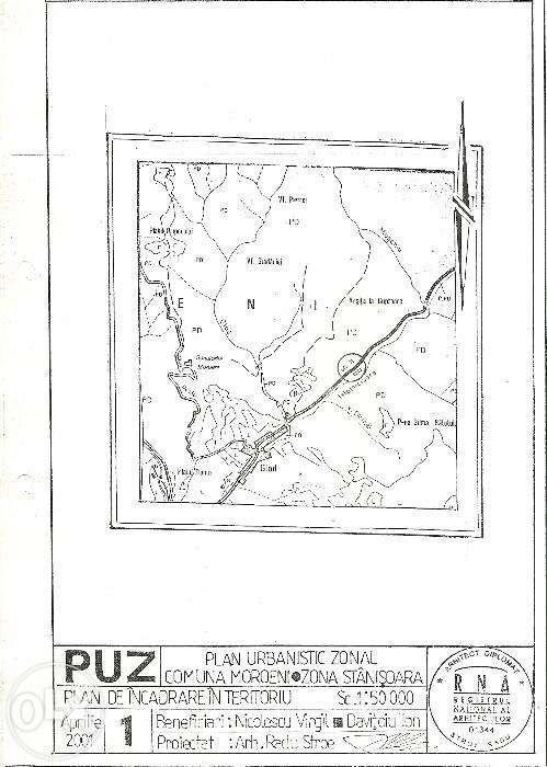 Vand teren intravilan Comuna Moroeni-Dambovita