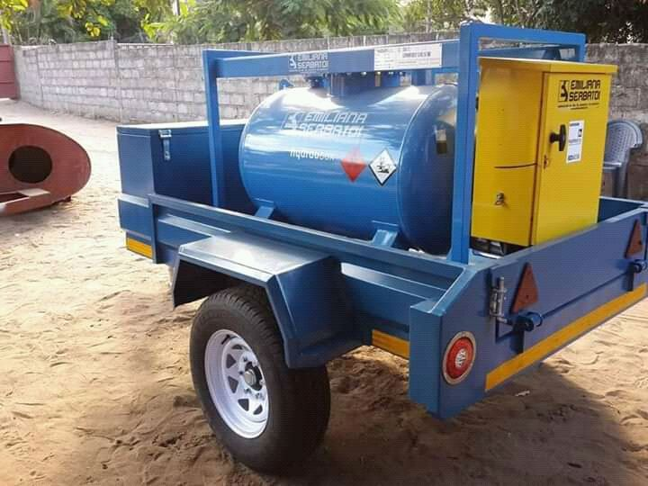 We make and sell customized trailler according to your needs