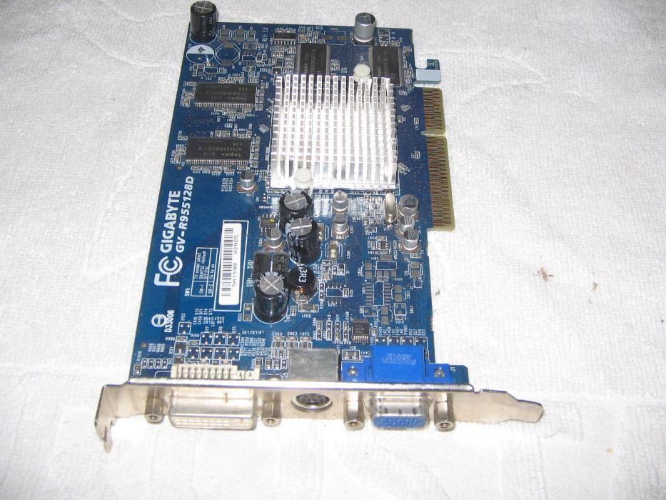 Видеокарта ATI Radeon 9550, 128 MB