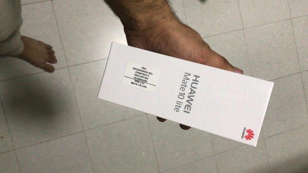 Huawei P10laite na caixa celado