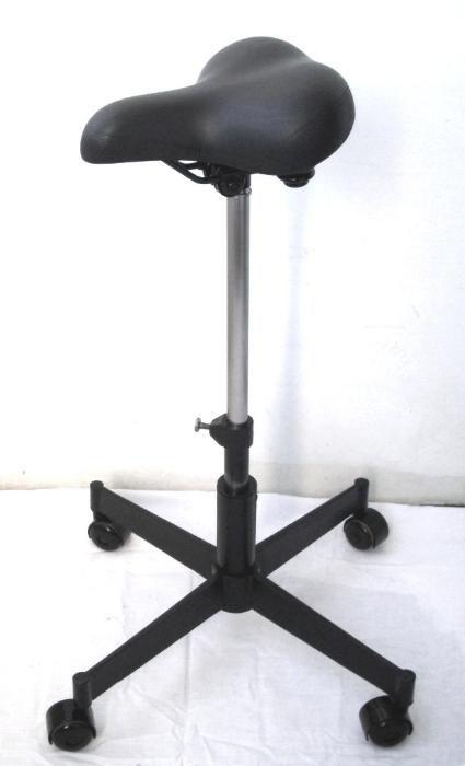 Работен стол табуретка с велосипедна седалка