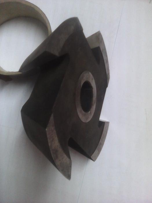 Freză profil inclinat 60°, placute cu carbura metalica, marimi diverse