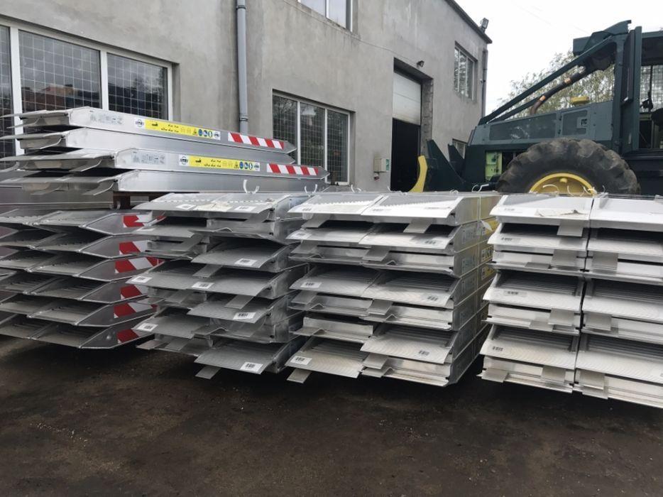 Rampe incarcare aluminiu Cale incarcare
