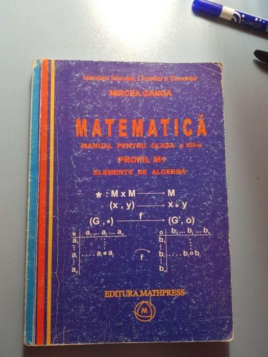 Manual matematica clasa a 12a