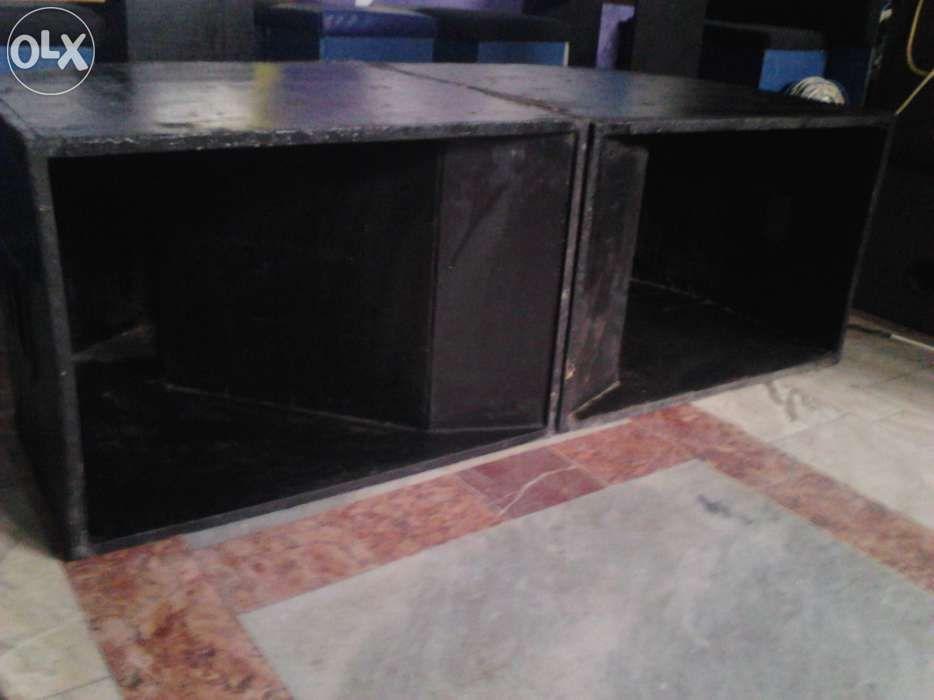 Boxe de bass, 500w, reflex