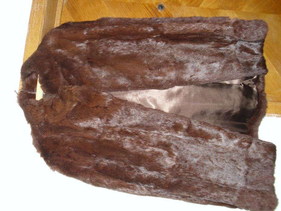 haina de dama, din blana