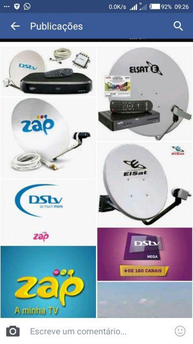 Só instalador Dstv, Zap ,mas outras antenas parabólicas