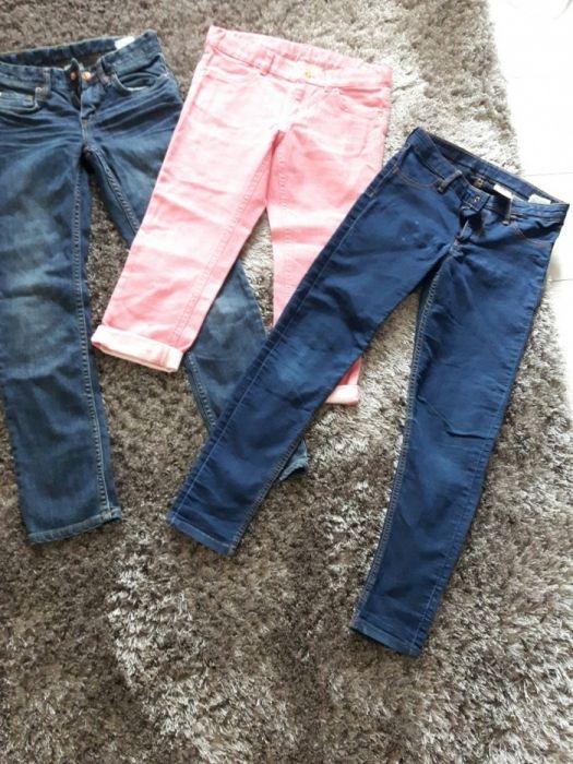 Lot blugi H&M pentru fetite mărimea 6-8ani