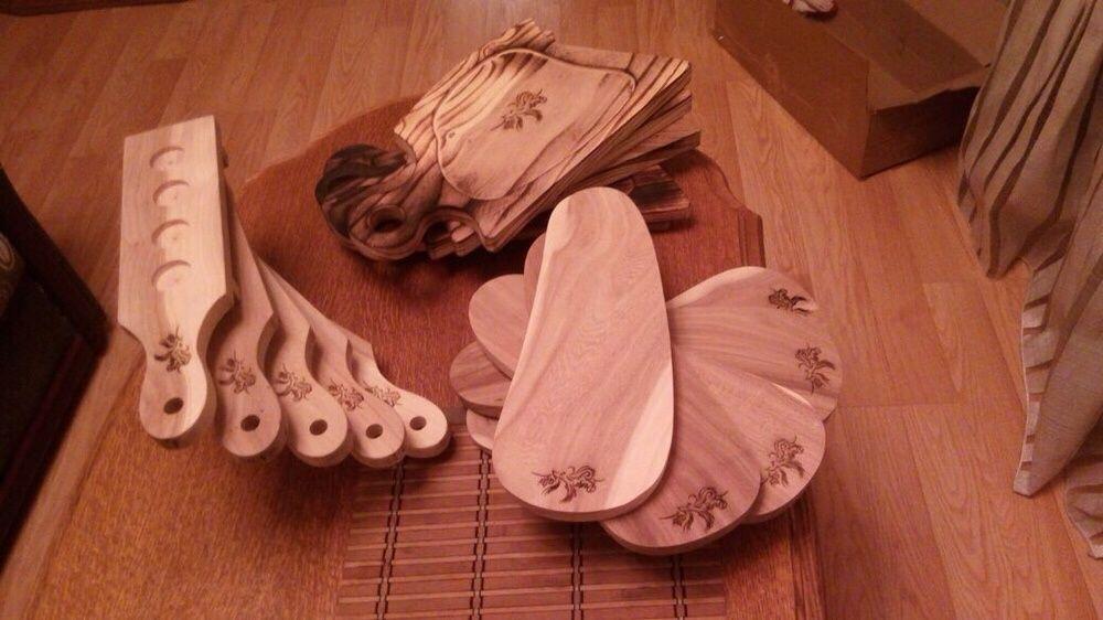 Деревянная посуда для кафе и ресторанов на заказ