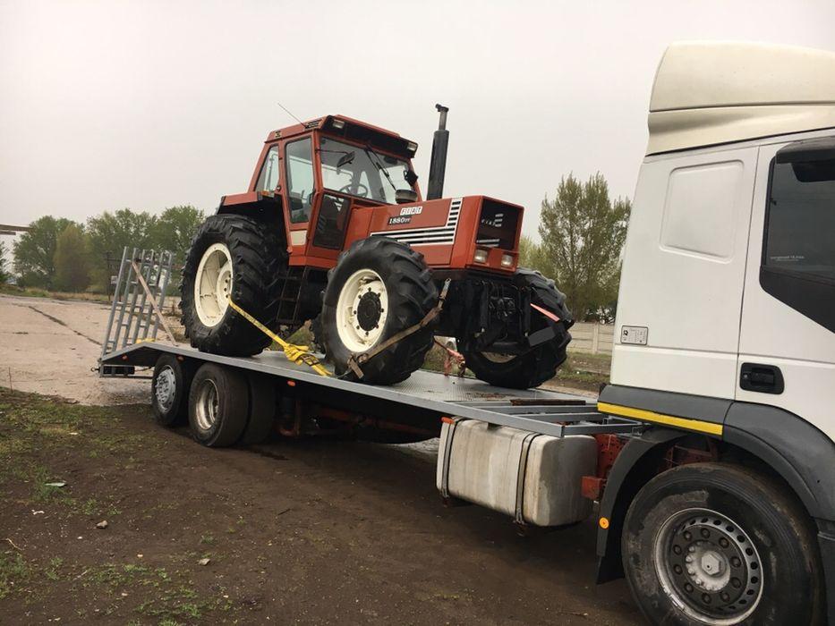 Platforma tractari depanari auto utilaje buldoexcavatoare tractoare Craiova - imagine 5