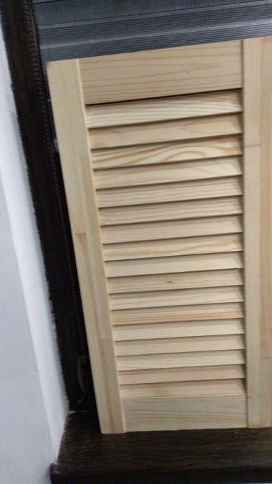 Жалузни дървени вратички