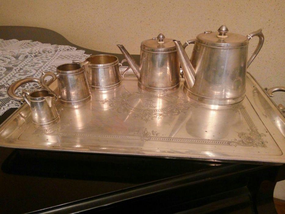 Set argint inscriptie regala + set argint pahare si cescute