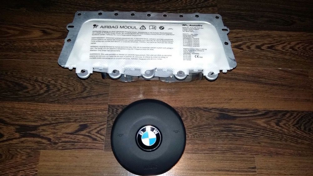 KIT Airbag BMW Seria 6 F12 F13 M6 Noul Model Volan + Pasager 2011+