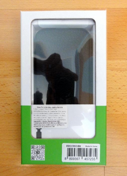 Husa Flip din Piele Neagra (Samsung Galaxy Trend Lite Duos)