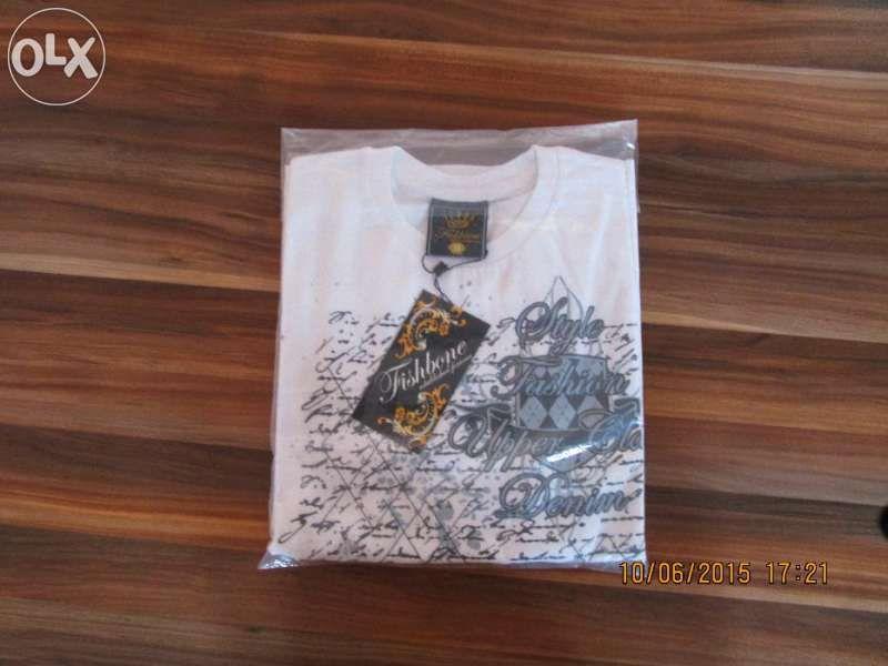 Тениска Fishbone НОВА + 3 тениски подарък.