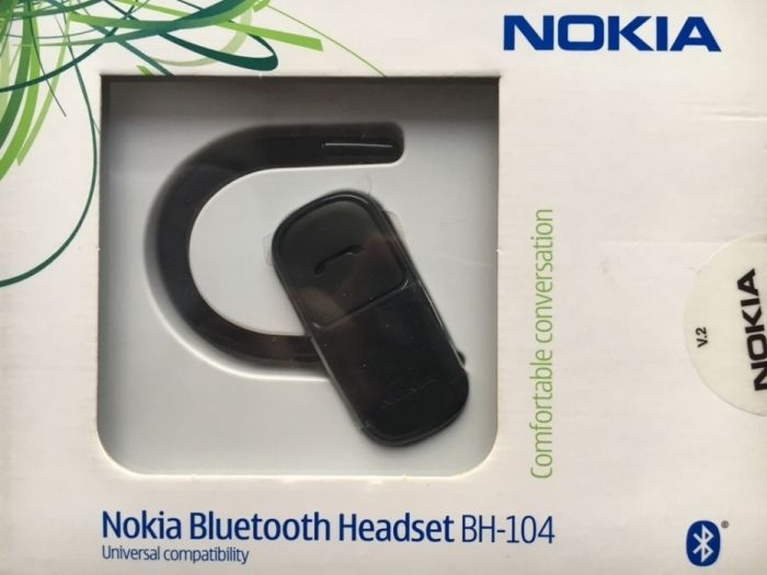 Nokia Bluetooth Headset BH-104