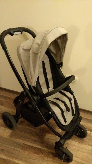 Детска количка Graco Evo Trio, Sand 3в1