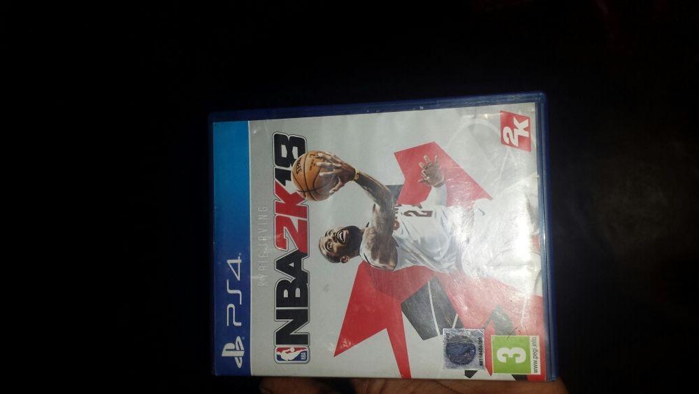 Jogo para PS4 NBA 2k18