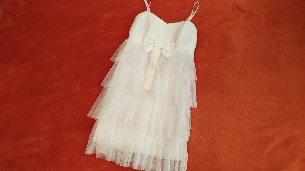 Rochie Speciala alba Eleganta evenimente ocazii seara rochii dama