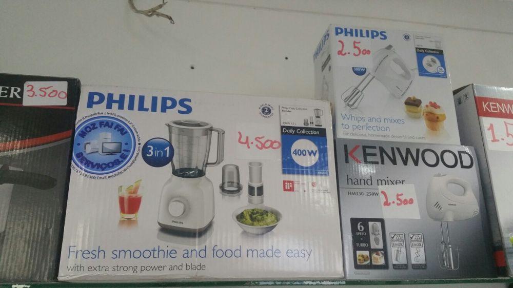 Liquidificadores da marca philips vidro 3 in 1 super modernos