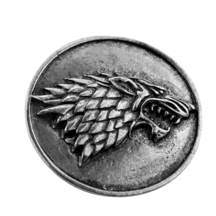 "Broșă ""Game of Thrones"" - Stark House"