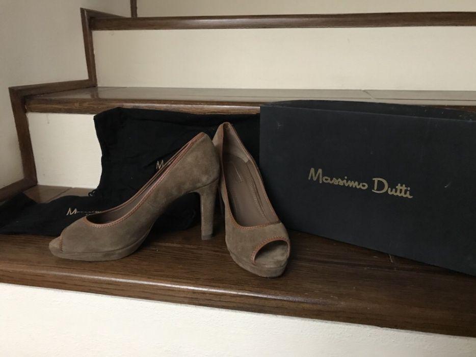 Pantofi cu toc Massimo Dutti