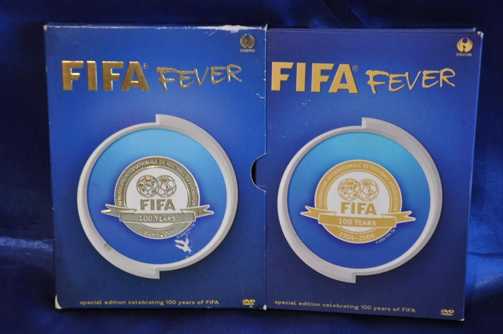 FIFA FEVER - Special Edition Celebrating 100 years of FIFA. Box 2 DVD