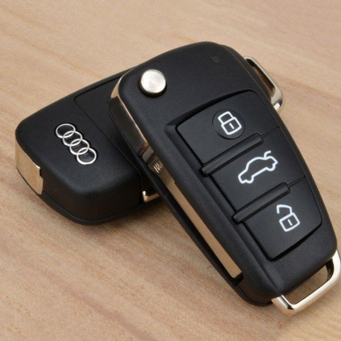 Оригинална кутийка за ключ Audi A2, A3, A4, A5, A6, A8, Tt, Q7