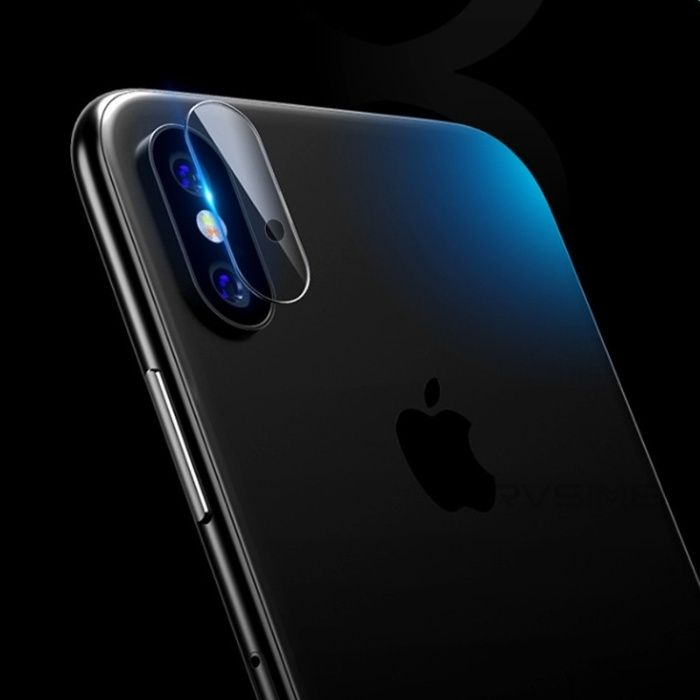 9H стъклен протектор за камера на Apple Iphone X, 10, 7 Plus, 8 Plus