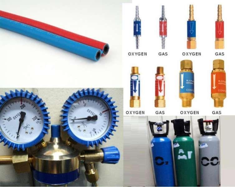 Дюзи за резаци и горелки,маркучи двойни и единични,предпазни клапани. гр. Пазарджик - image 1