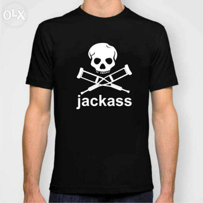 Tricou jackass Johnny Knoxville cadou funny