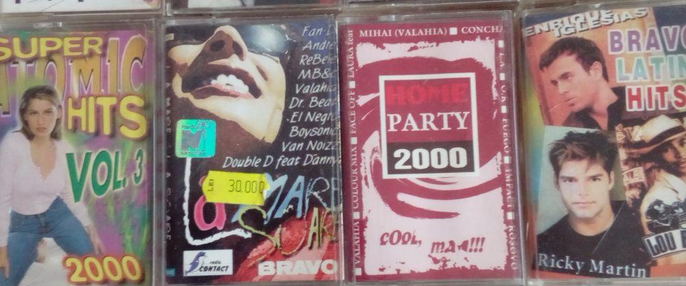 Casete audio muzica romaneasca/straina anii '90-'00
