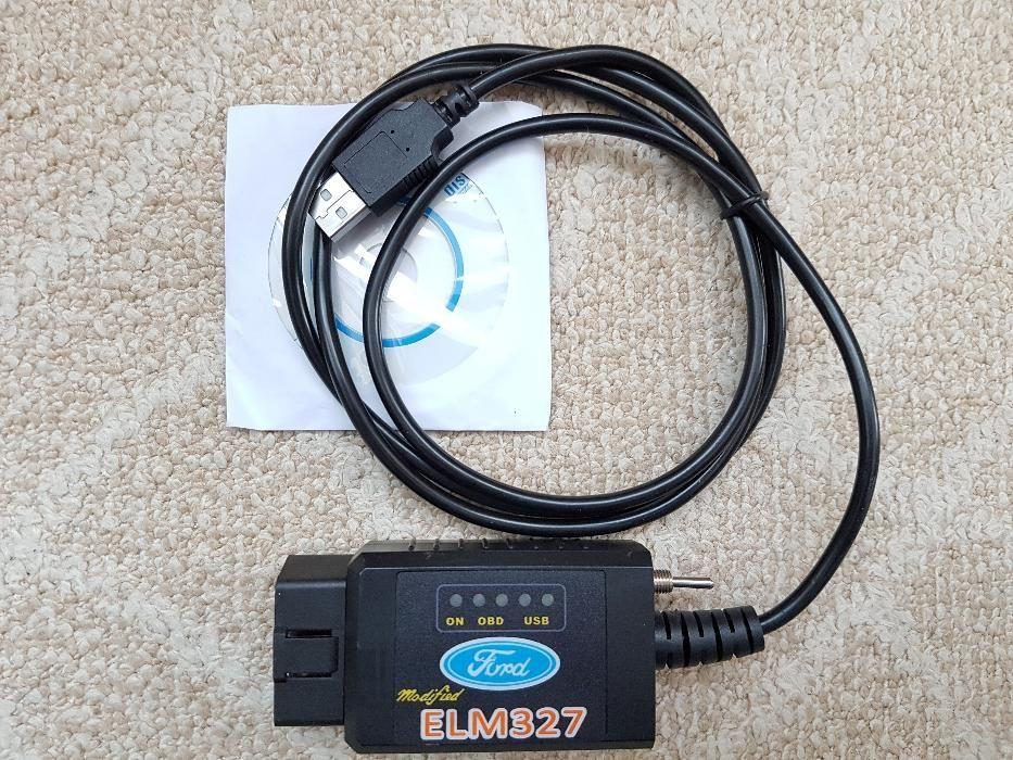 ELM327 USB FTDI chip Modificat Forscan, Elmconfig, Focccus. HS MS CAN