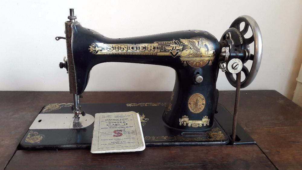Masina de cusut Singer 1929 perfect functionala, de colectie