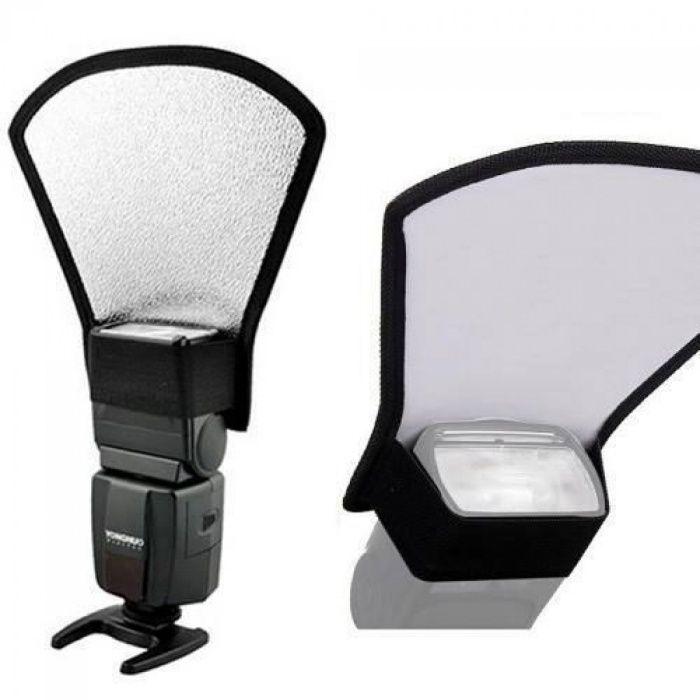 Vendo Rebatedor/difusor para flash Canon, ou Nikon a bom preço