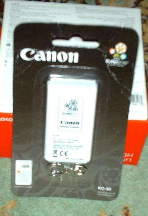Canon KC-30 calculator 8 dig