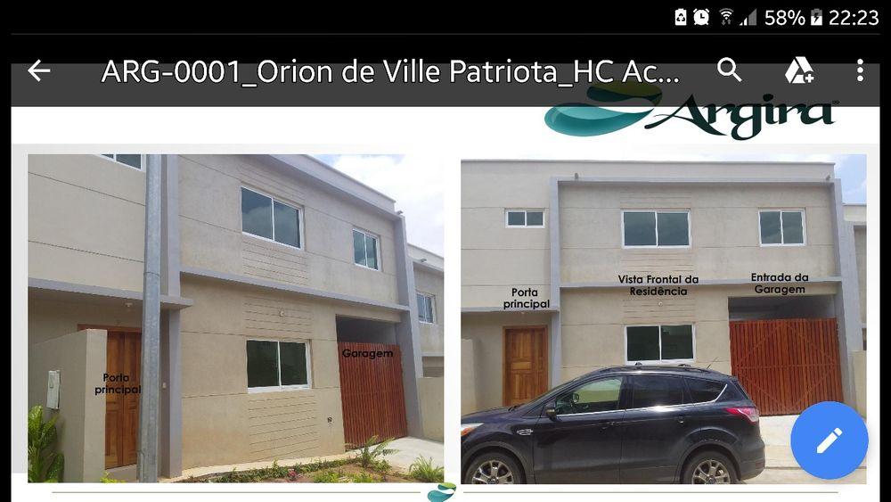 A luga está casa no residencial orion vallist.3 suites