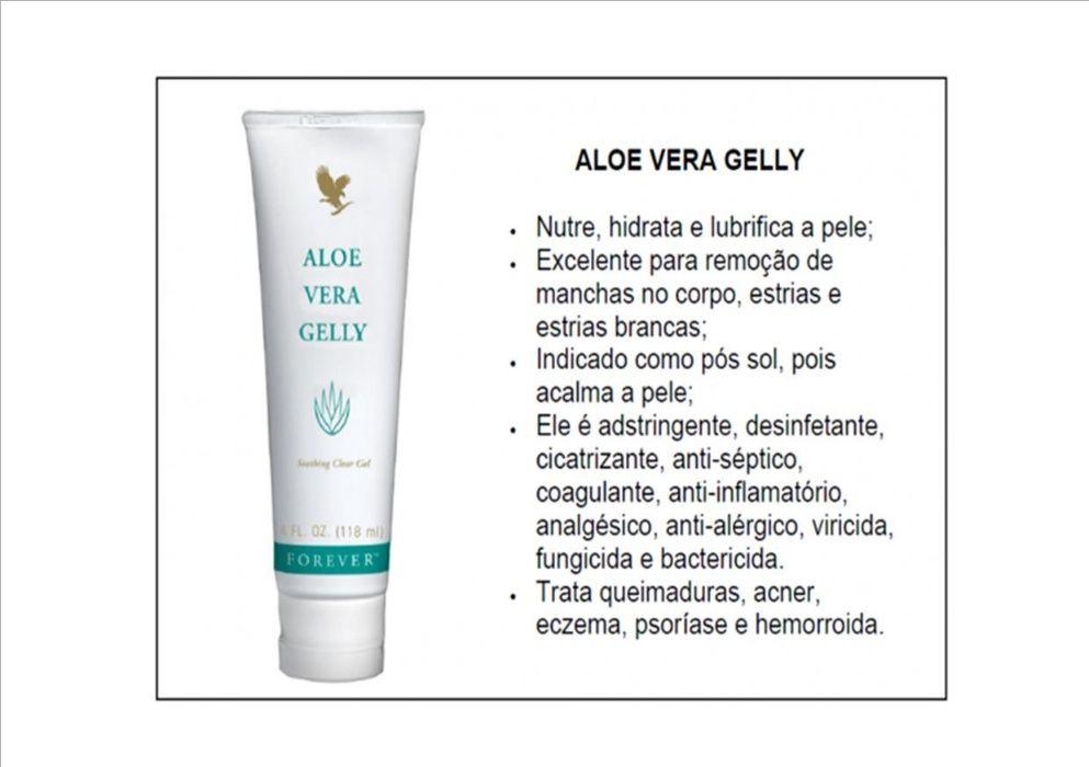 Forever Aloe vera Gelly - Para cuidados da pele