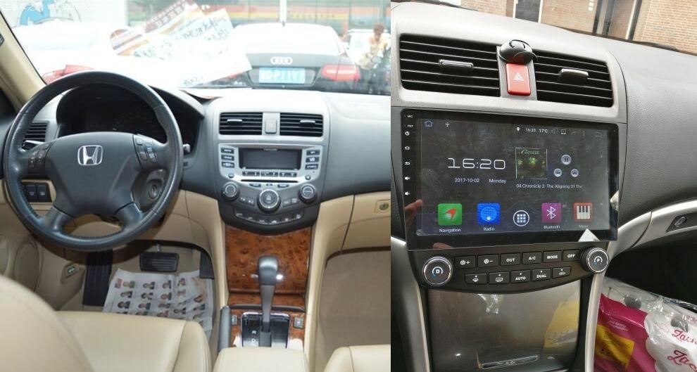 Navigatie Honda Accord 7 2003 -2007 benzina cu sistem android 8.0