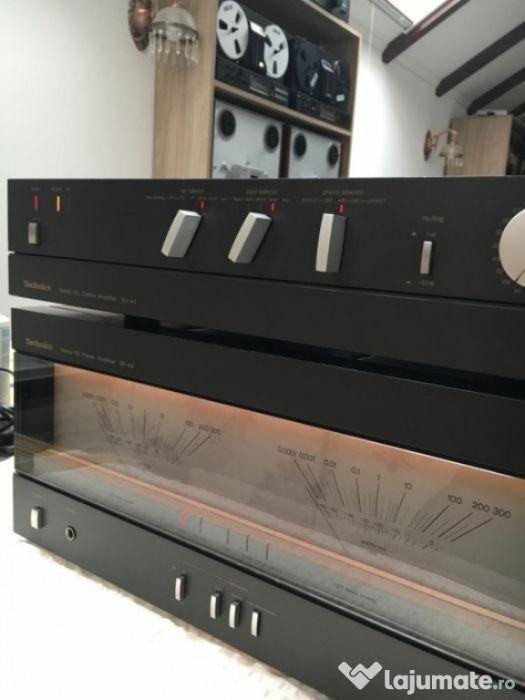Technics SE-A3+pre amplificator SU-A4
