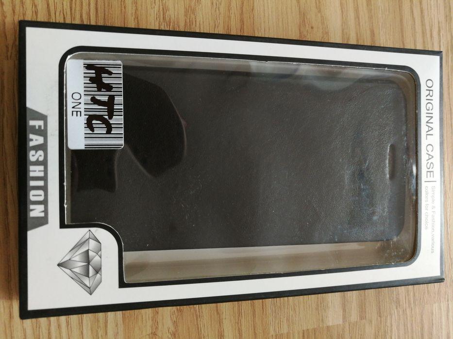 Huse NOI, tip carte HTC ONE si M8 din piele si carcasa de silicon