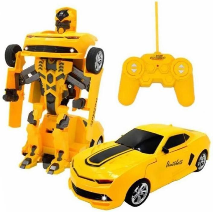 Robot transformers cu telecomanda,robot si masina 2in1,cadoul minunat!