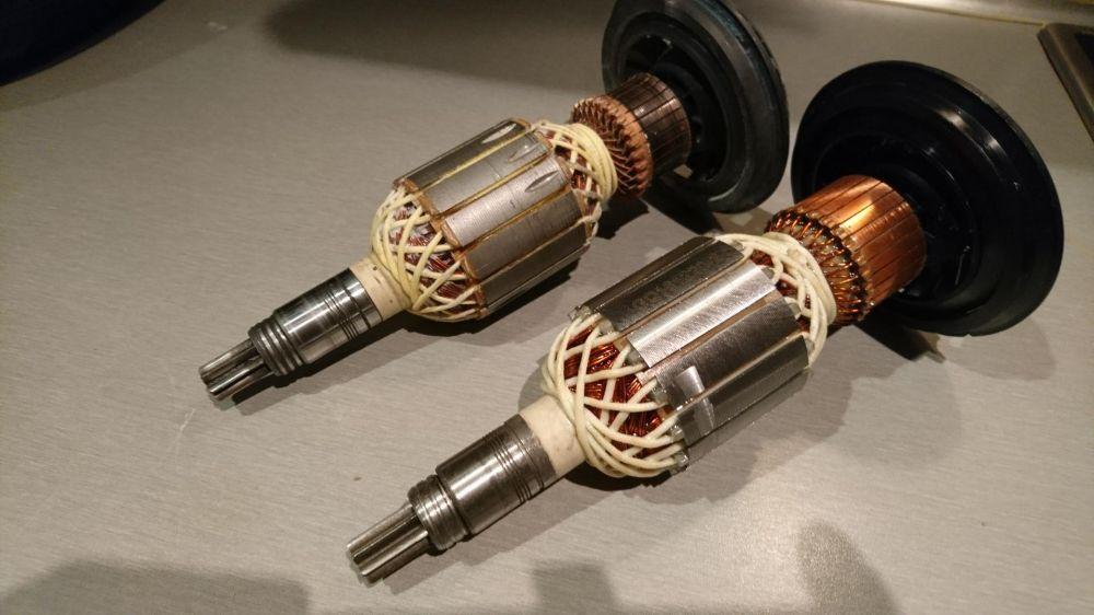 Ротор къртач Bosch Бош GBH11 DE и GSH11 E/ четки електроника зъбно кол