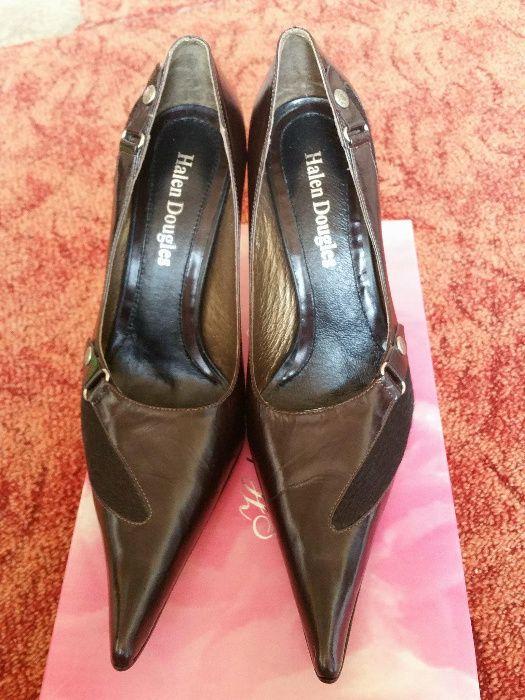 Pantofi eleganti piele cu blanita marimea 38