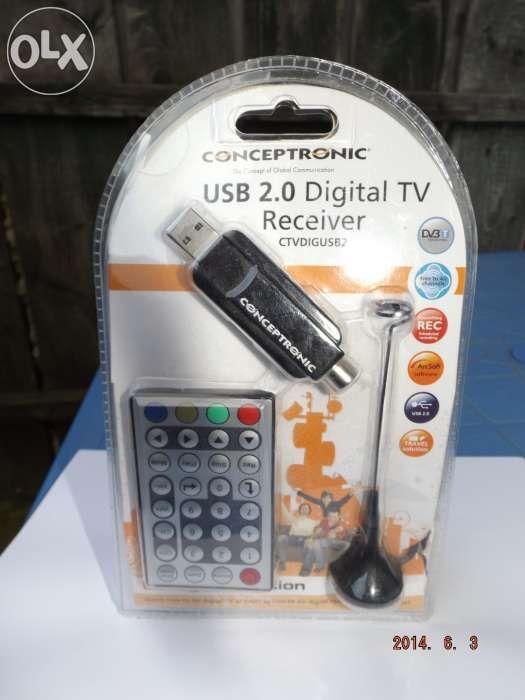 Receiver digital 2.0 -USB. Tv - Radio DVB TV.Germania .