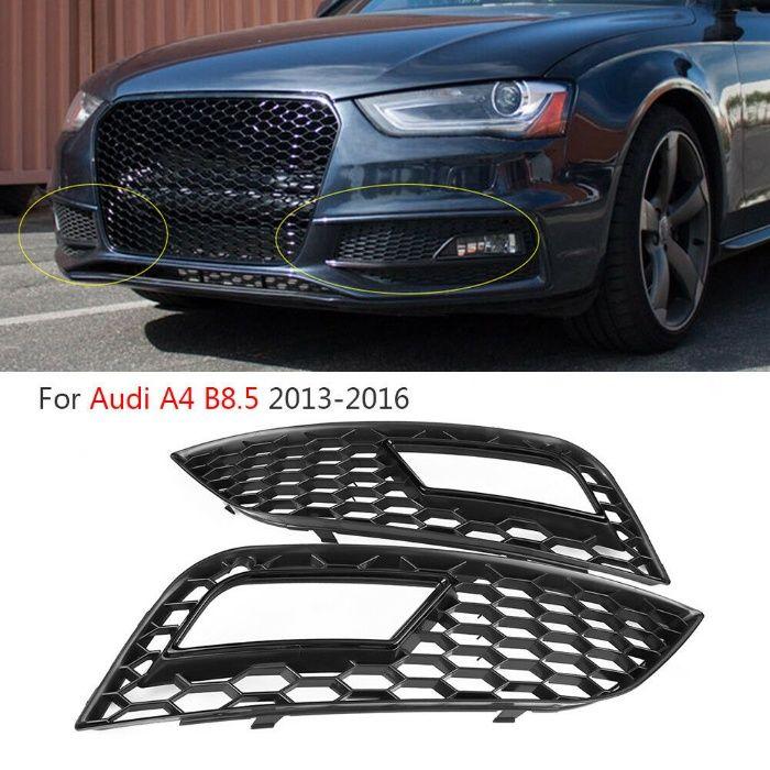 Grila proiector AUDI A4 (B8) 2012-2015 NEAGRA