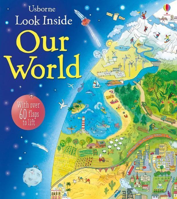 Enciclopedie Usborne cu clapete Look Inside Our World oferta
