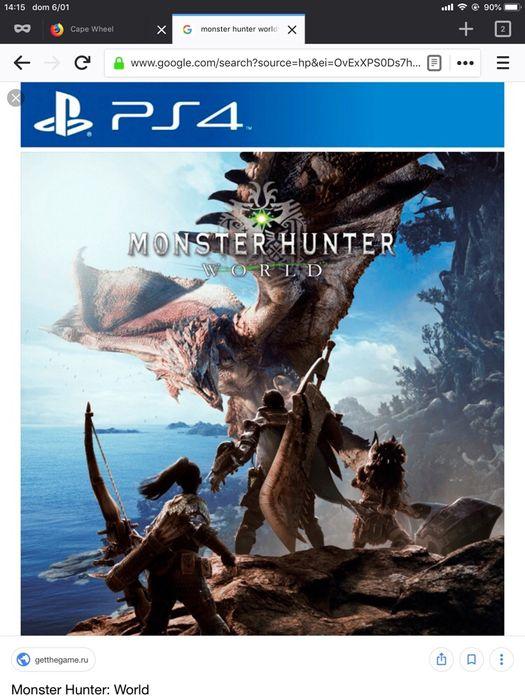 PS4 - Monster Hunter 2018