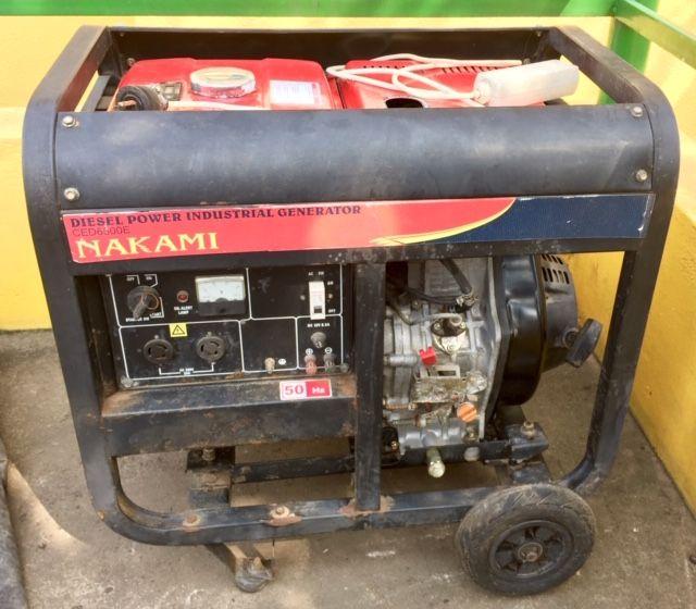 Gerador NAKAMI 6.5KW Diesel
